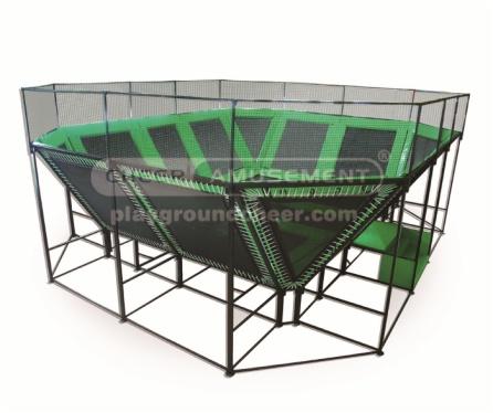 Pyramid/Jump Tower trampoline Park