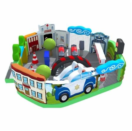 Urban Themed Bouncer